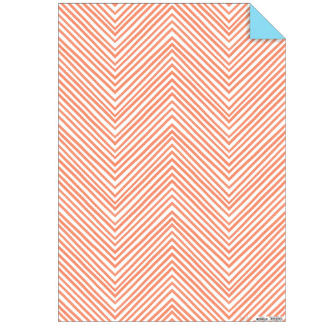 Neon Coral Wrapping Paper