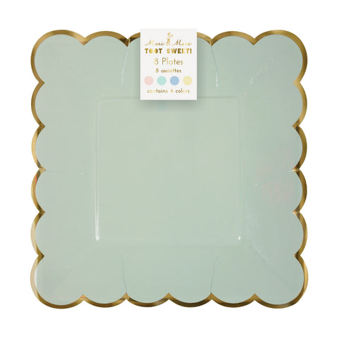 Pastel Plates (Pack of 8)