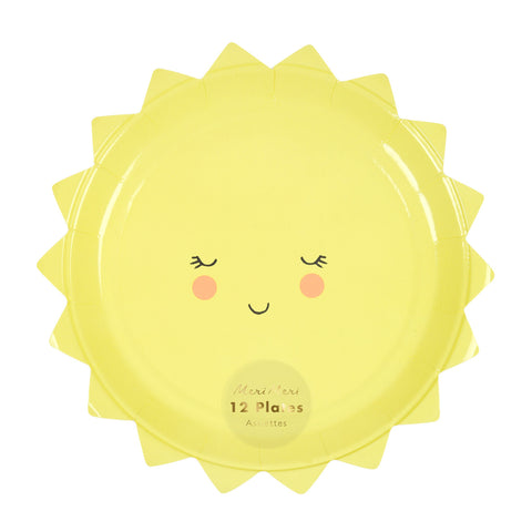 Sun Plates (Pack of 12)
