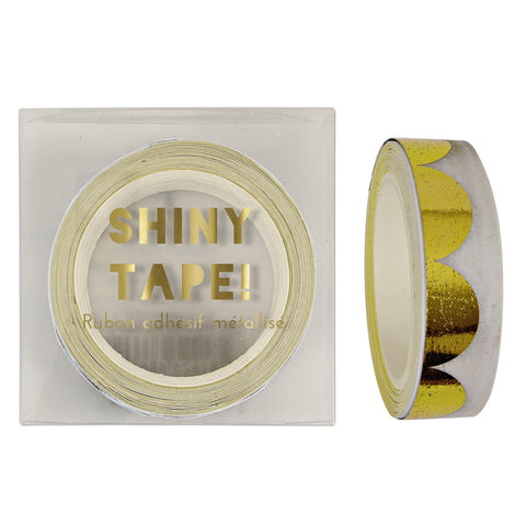 Gold Foil Scallop Tape