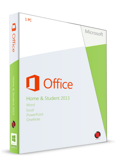 Microsoft Office Home and Student 2013 for PC