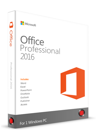 Microsoft Office Professional 2016 for PC
