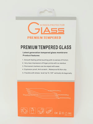iPhone Tempered Glass For All iPhone Models Retail Package