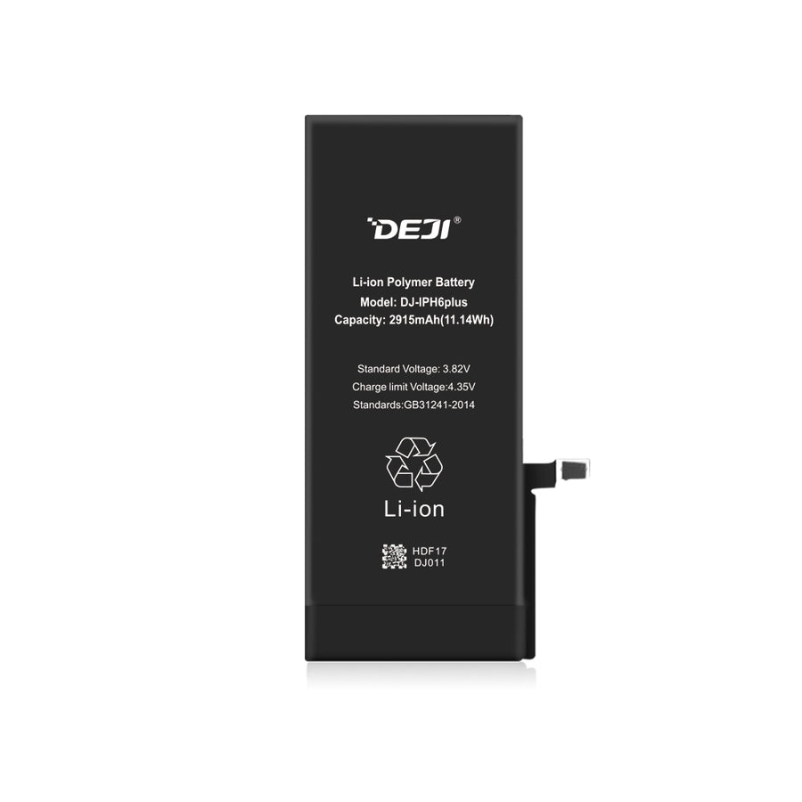 iPhone 6 Plus Li-ion Polymer Battery Capacity 2915mAh (11.14Wh)