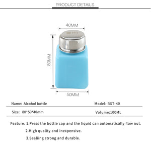 40ML ESD SAFE Solvent One-Touch Dispenser Bottle For Acetone Alcohol