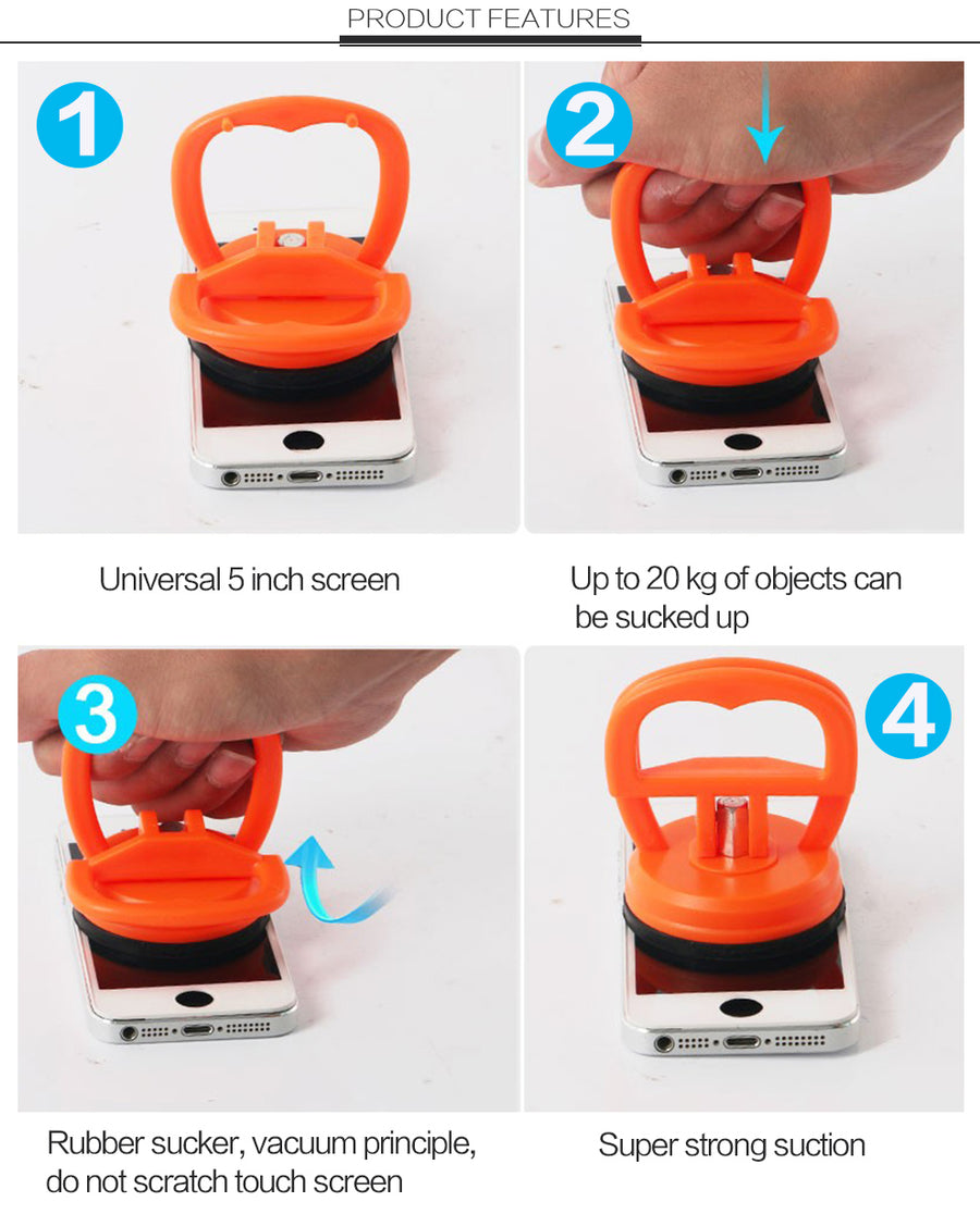 LCD Screen Opening Suction Cup Repair Tool for Mobile Devices, iPhone, Samsung, Nokia, HTC