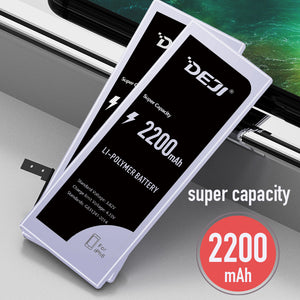iPhone 6 Battery Replacement, Super Capacity, 2200mAh