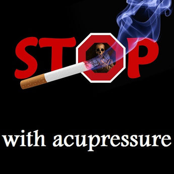 Acupressure for quiting smoking