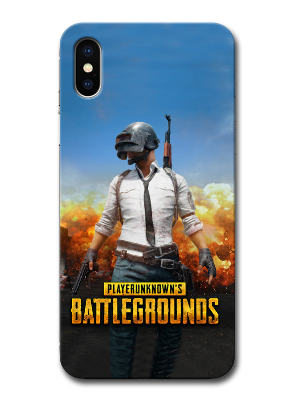 sports shoes edcd0 f2d62 PUBG Tencent Games Minimal Designer 3D Matte Finish Mobile Back cover for  Apple iPhone X
