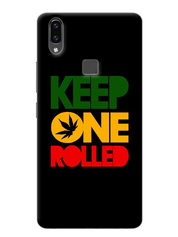 competitive price fce19 12c2c Grass Weed Ganja Rasta Marijuana Stoner Trippy Minimal Designer 3D Matte  Finish Mobile Back cover for Vivo V9