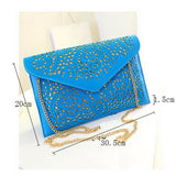 Shoulder Designer Evening Day Clutch Women Messenger Bag