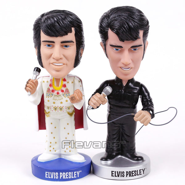Elvis Presley ELVISLIVE Wacky Wobbler Bobble Head PVC Action Figure Collection Toy Doll 18cm 2 Styles