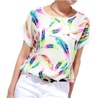 Big Size Blouse XXXXL 6XL Plus Women Tops  Shirts Ladies Casual Summer Blouse Tops