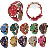 Beautiful face Watch in Multi colours