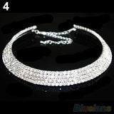 Crystal Rhinestone Collar Necklace Choker Necklaces