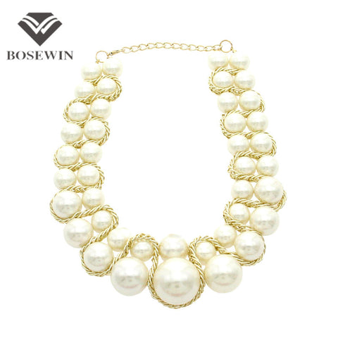BOSEWIN PEARL NECKLACE