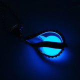 Teardrop Necklace Glow in the Dark Pendant the Little Mermaid