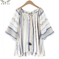 high quality Summer style Kimono blouses top Plus size XL-5XL