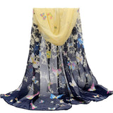 Limited edition scarves female shawls super long chiffon  decorative fabric