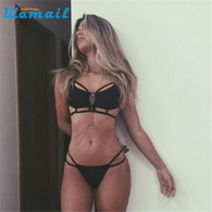 Set Women Hollow Out Summer Sexy Bikini Underwear lace bra set
