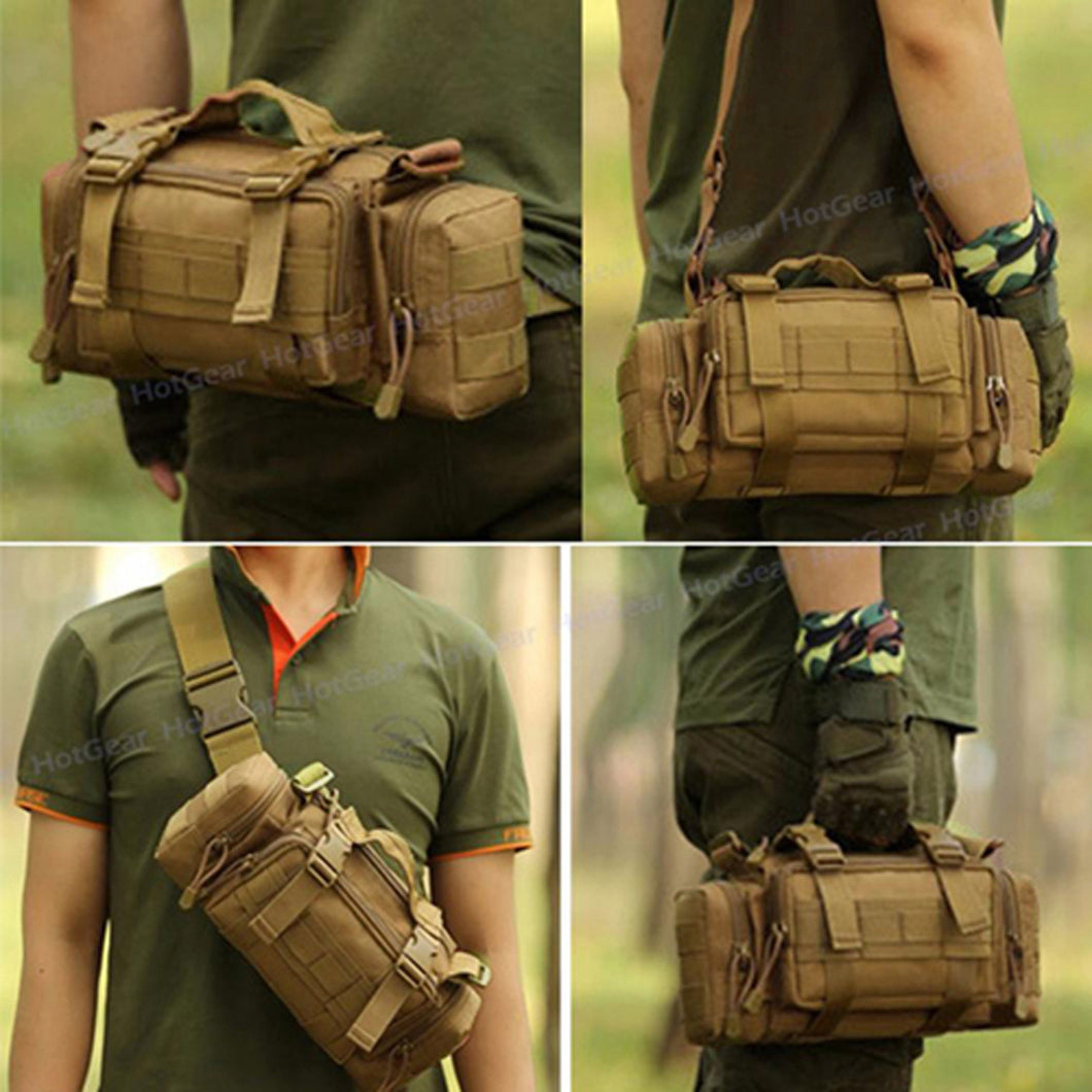 Multi-functional Shoulder/Sling/Waist Bag
