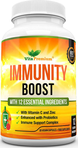 Vitamin C and Zinc Immune Support Complex