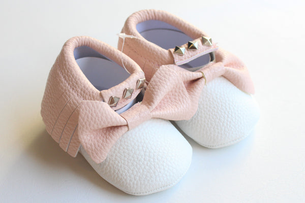 Stud Bow Moccasins