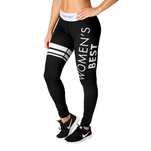 WOMEN'S BEST INSPIRE LEGGINGS - BLACK/WHITE