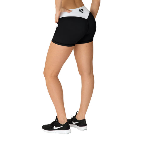 WOMEN'S BEST EXCLUSIVE SHORTS – BLACK/WHITE