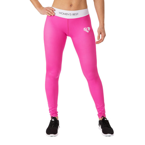 WOMEN'S BEST EXCLUSIVE LEGGINGS - PINK/WHITE