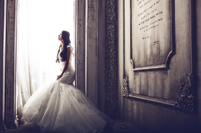 Picture of Bride by a Window