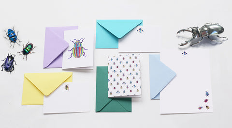 Love Bugs Stationery Collection