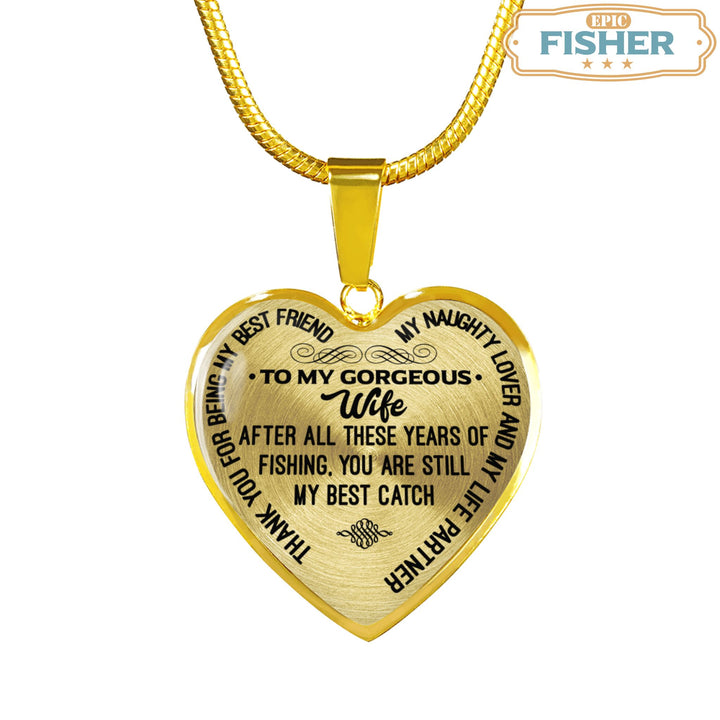 Fisherman\'s Wife Heart Shaped Pendant Jewelries – Epic Fisher
