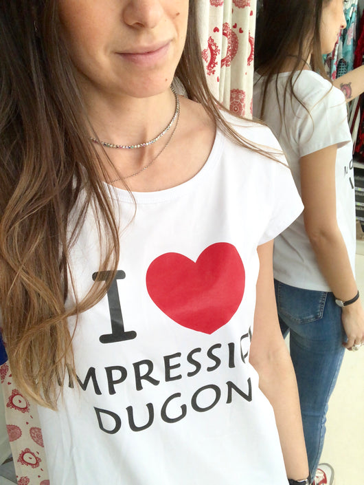 T-shirt I LOVE IMPRESSION DUGONI