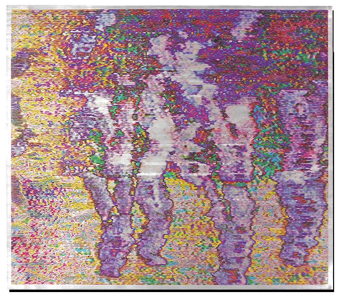 Dancing crowd - Quadri print on Offset printing plate - One made - For sale! Contact for more info