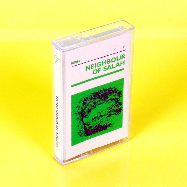 KRM04 Neighbour of salah cassette cover print for the KERM label