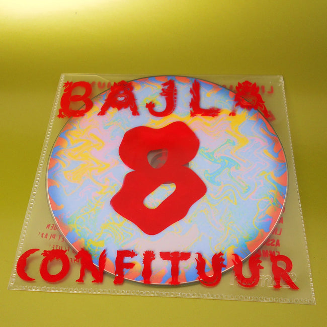 Design Print - Bajla 8 cd release  - Live Electronic music jams by 7 year old kids - in collaboration with metX