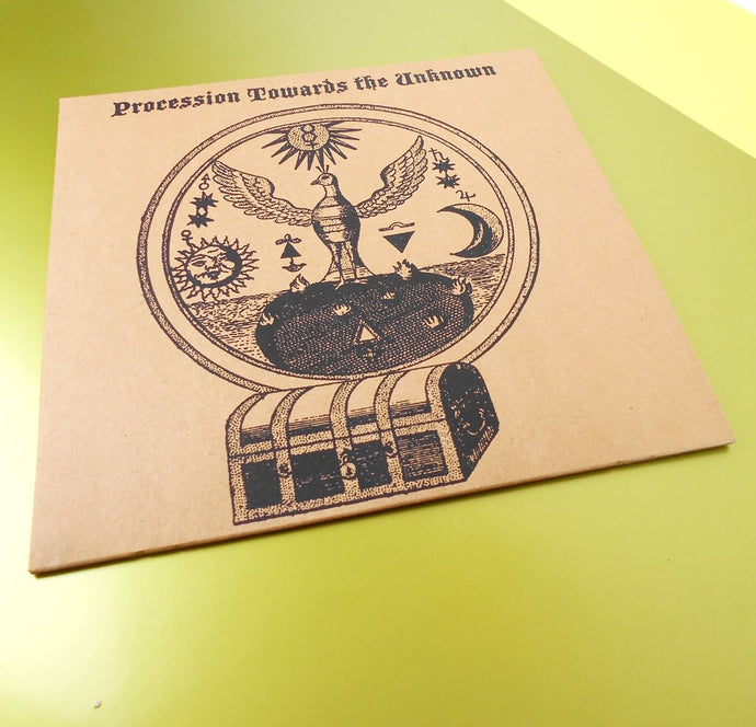 Procession Towards The Unknown - Vinyl sleeve print - Mental Groove Records