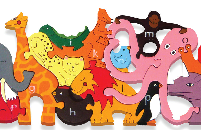 Alphabet Zoo Jigsaw and Playset