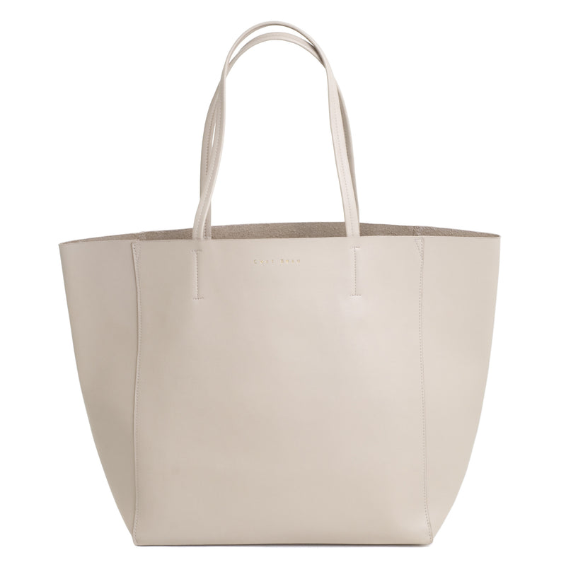C'est Beau Ivy Shopper Cream Shoulder Bag