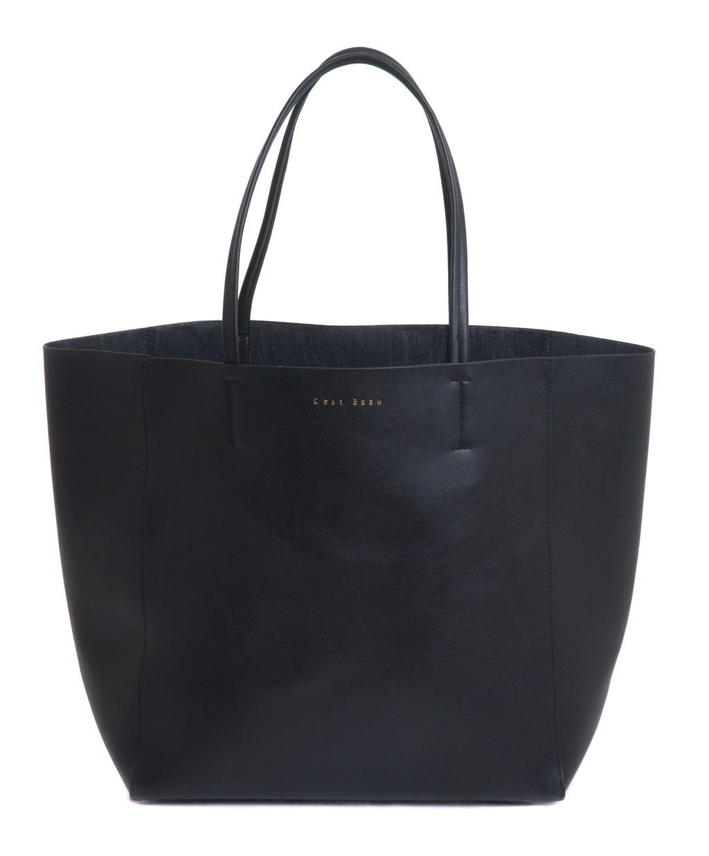 C'est Beau Ivy Shopper Black Shoulder Bag