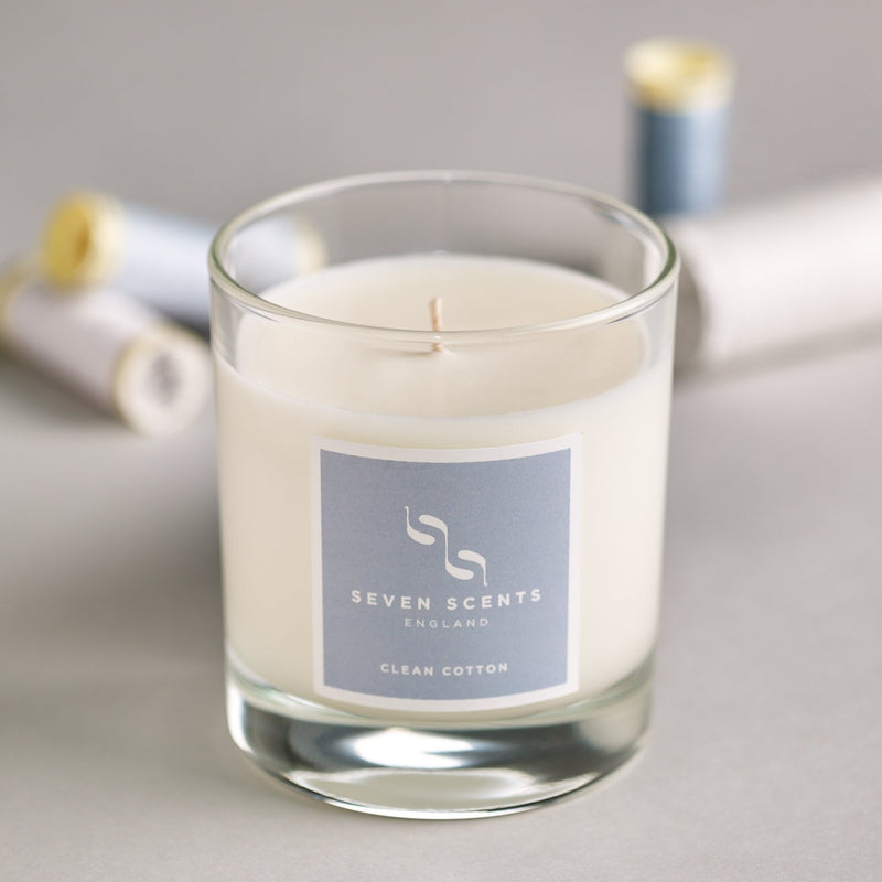 Seven Scents Clean Cotton Signature Candle
