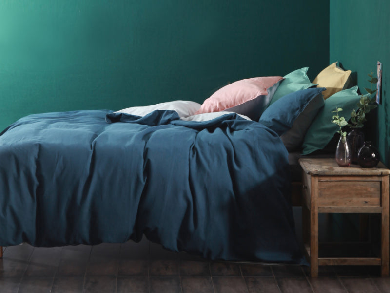 MM Cloth & Clay Hue Deep Ocean Duvet Set
