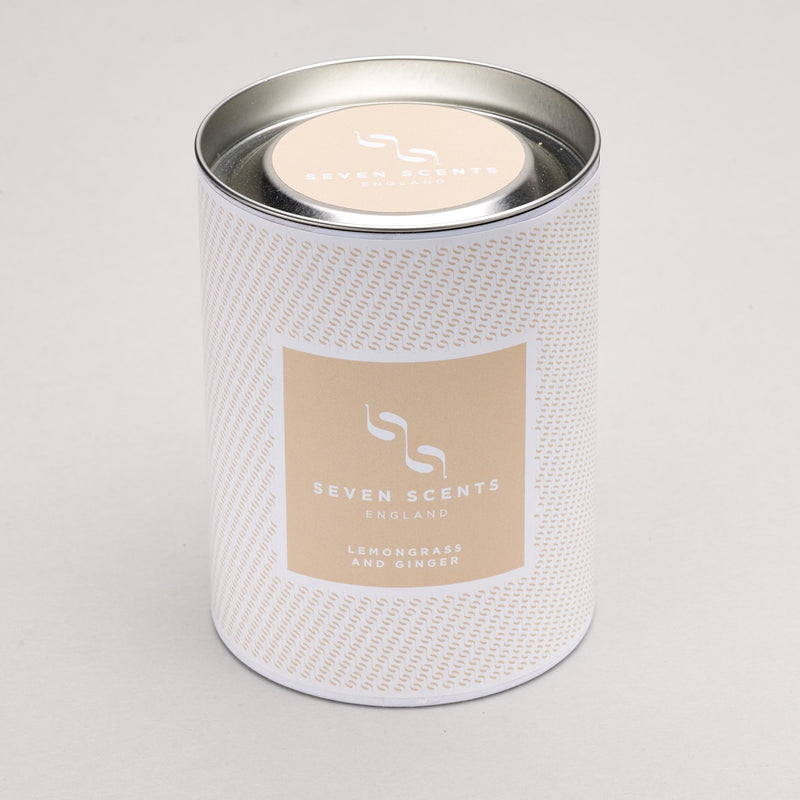 Seven Scents Lemongrass & Ginger Signature Candle