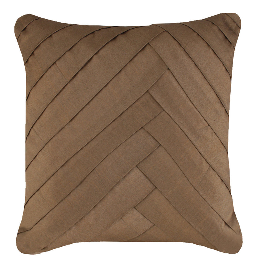 Lush Satin Fold Cushion