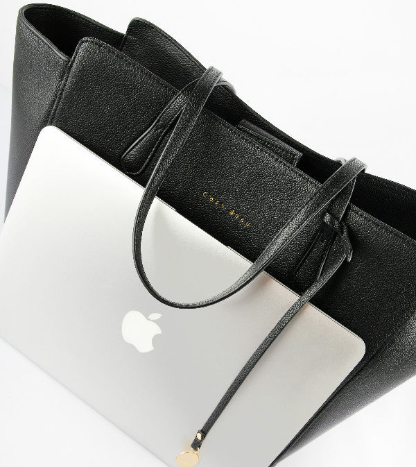 C'est Beau Mae Tote Black Shoulder Bag