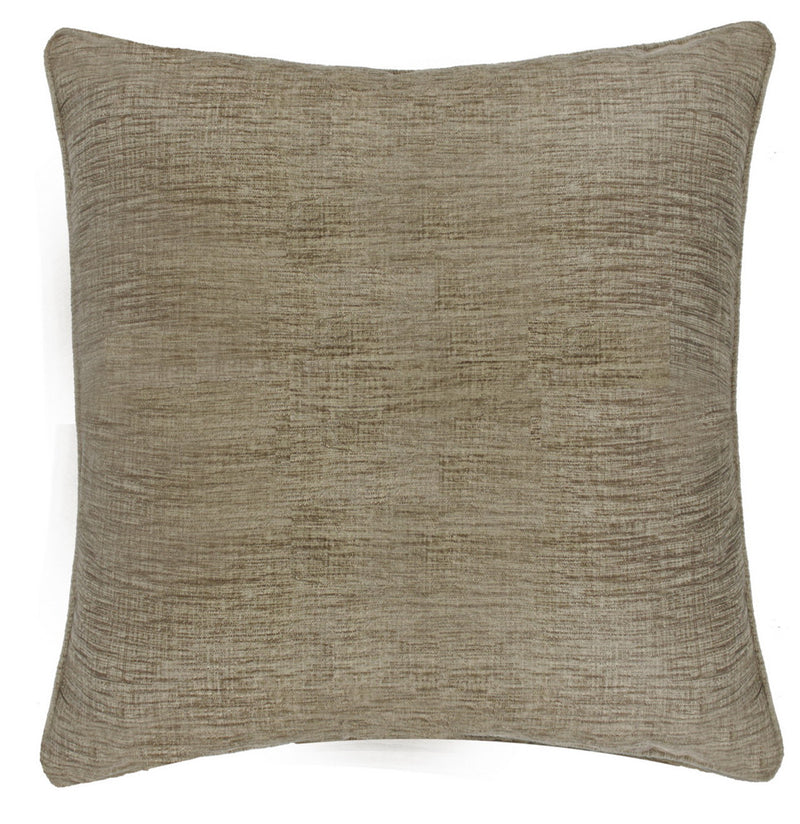 Chenille Rustic Gold Square Cushions
