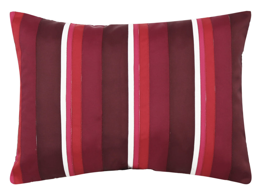Red Striped Long Cushion