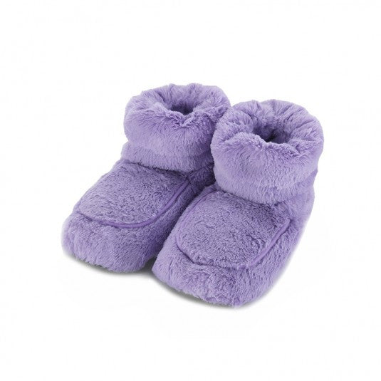 Warmies Home Therapy Lilac Body Boots