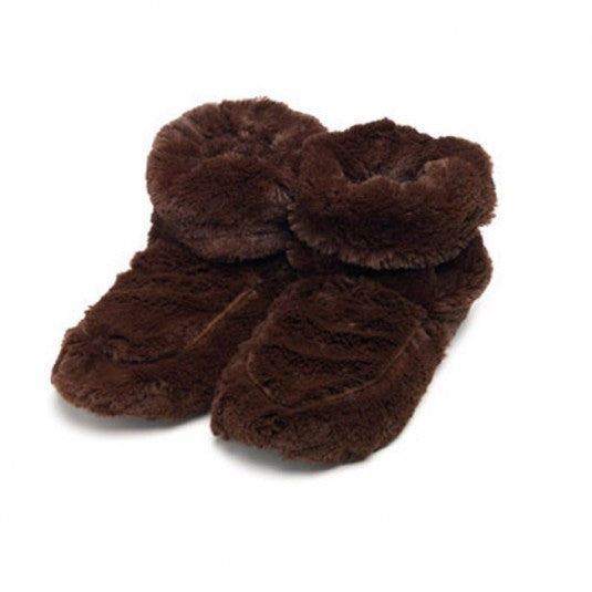 Warmies Home Therapy Brown Body Boots